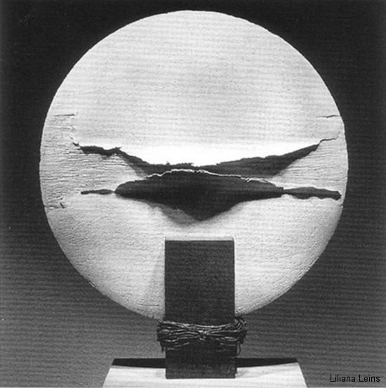 12-Diskus, Keramik, Durchmesser cm. 50