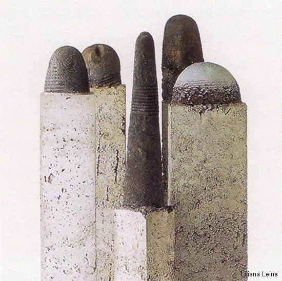 26-Torri, Beton und Keramik